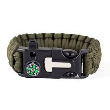 adjustable paracord survival bracelet