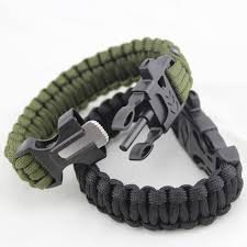 adjustable paracord survival bracelet 2