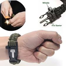 adjustable paracord survival bracelet 1